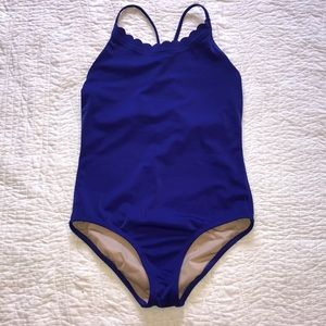 Crewcuts Scalloped One Piece Swim